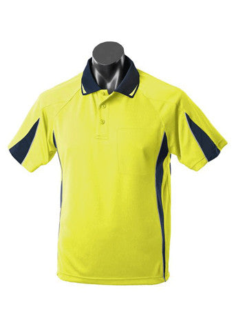 Eureka Men's Hi Viz Polo - Workwear Warehouse