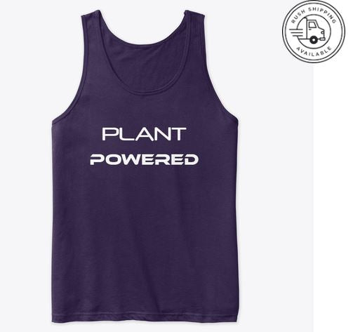 Plant Powered Workout Tank Top  (Unisex)