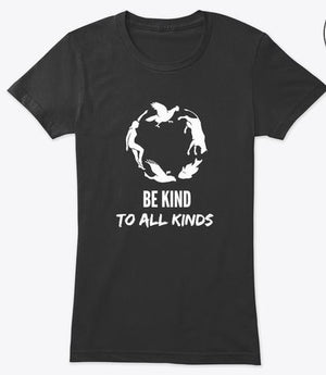 Be Kind T-Shirt (Women's / Dames)
