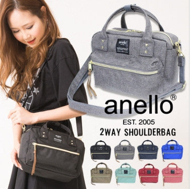 Anello Square Mini Boston 2 WAY Shoulder Bag AT-C1223
