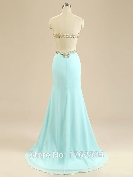 Strapless Prom Dress,Prom Dresses,Long Evening Dresses