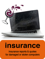 Insurance Reports for Apple Mac computers & PC's