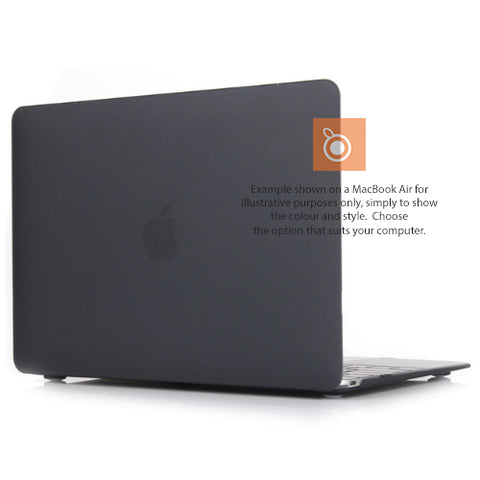 Hard Shell Case MacBook Pro 13i A1278 (Black Translucent) DVD