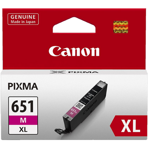 Canon CLI651XLM XL Magenta High Yield Ink (~750 pages)