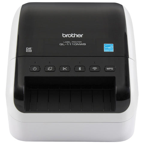 Brother QL-1110NWB Label Printer for Shipping Labels (103mm Wi