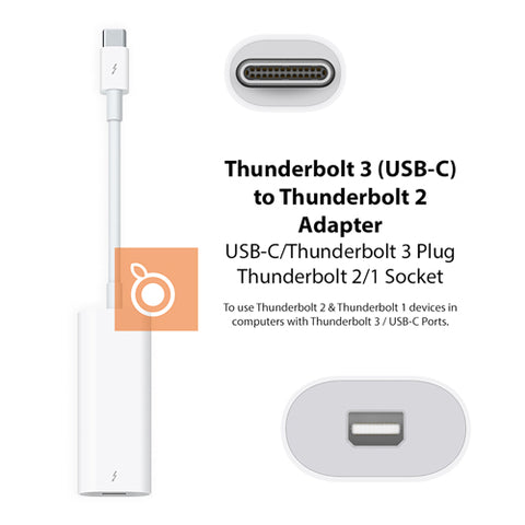 Apple Thunderbolt 3/USB-C to Thunderbolt 2 Adapter