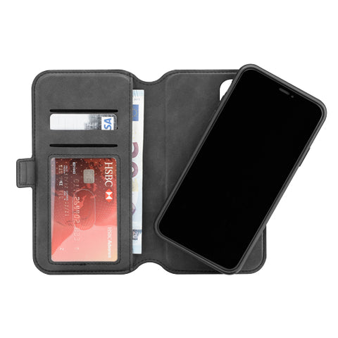 3SIXT iPhone 11 Pro Max Wallet (Black) NeoWallet 2.0