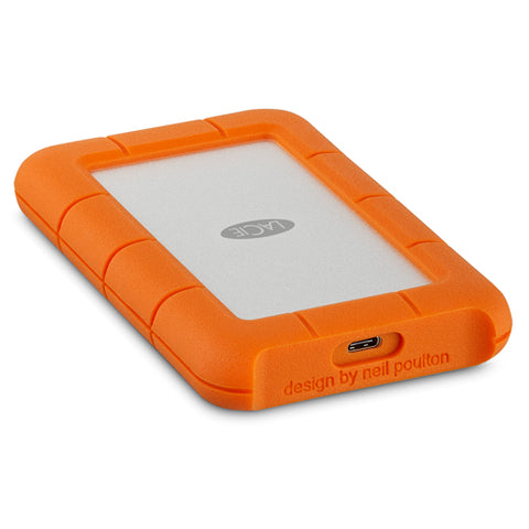 LaCie Rugged 2TB USB-C Portable Backup Drive (USB 3.1)