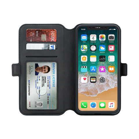 3SIXT iPhone XR Wallet (Black) NeoWallet