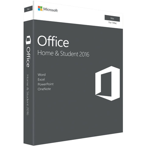 Microsoft Office 2016 Mac (1 User) Home & Student One Off Only