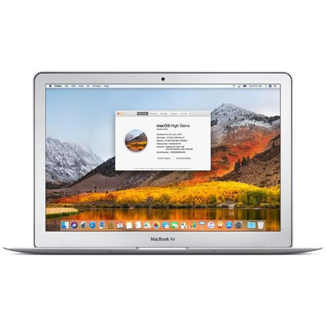 Apple SH MacBook Air 13i 2011 dual i7 1.8GHz 4GB A1369 B Grade