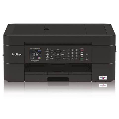 Brother MFC-J491DW A4 Inkjet Multifunction with AirPrint