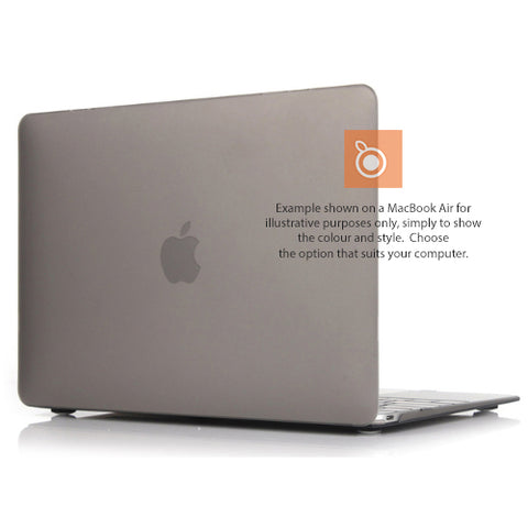 Hard Shell Case MacBook Pro 15i A1398 (Smokey Grey) Retina