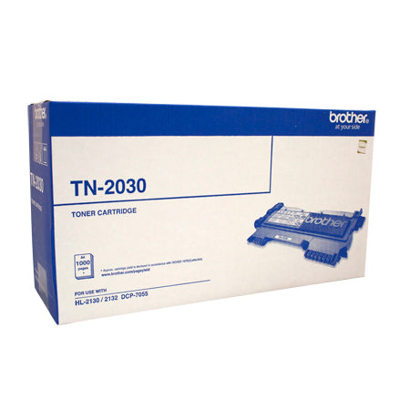 Brother Toner TN-2030 Black (1000 pages) for HL2130 HL2132 DCP