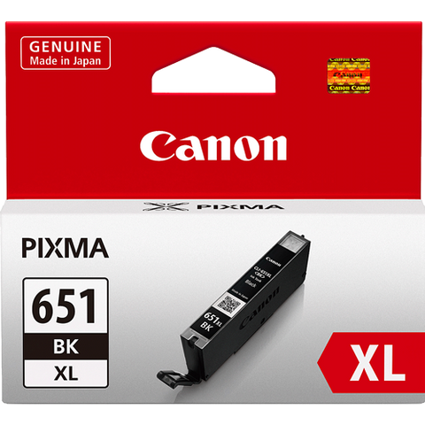 Canon CLI651XLBK XL Black High Yield Ink  (~750 pages)