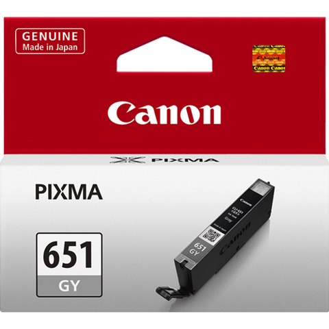 Canon CLI651GY Grey Standard Ink (~330 pages)