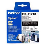 Brother Labels 24mm Diameter Round (Small) x1000 for QL Series