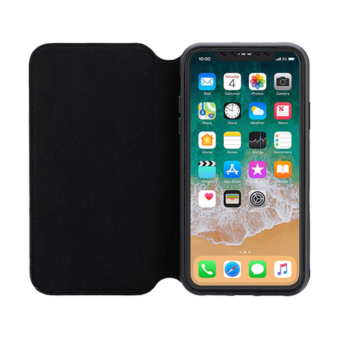 3SIXT iPhone Xs Max Slim Folio (Black) Case