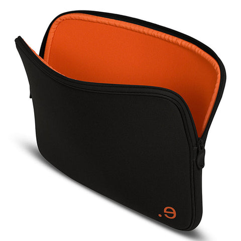 be.ez LA robe 15i (Black/Orange) Soft Zip Sleeve MacBook Pro