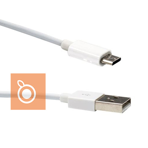Cable micro USB (White) Samsung & USB Micro B Charge Devices