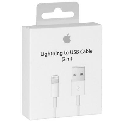 Apple Lightning to USB Cable (2M) Genuine * Retail Box