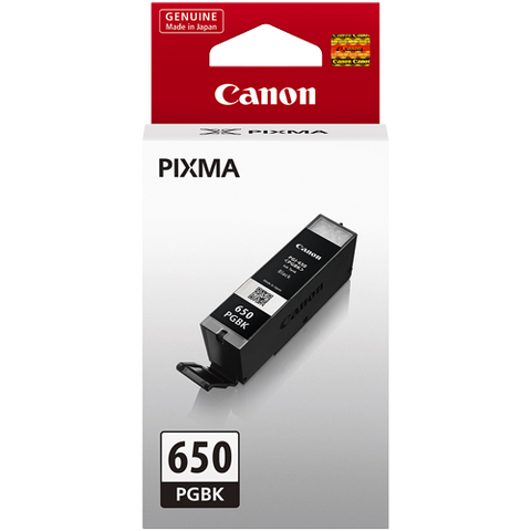 Canon PGI650BK Black Text Standard Ink (~300 pages)