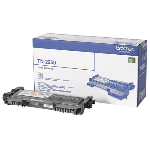 Brother Toner TN-2250 Black (2600 pages) High Yield