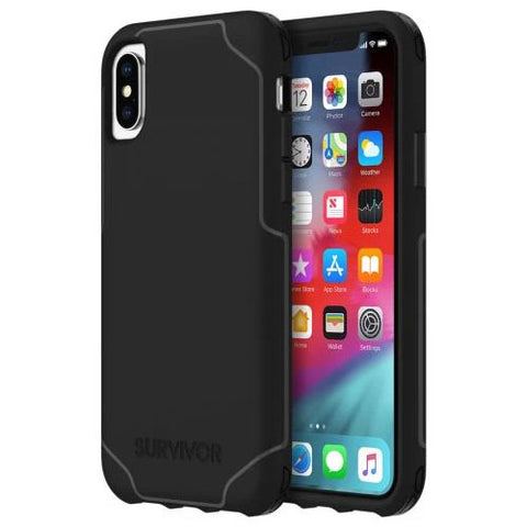 Griffin iPhone Xs/X Survivor Strong (Black) Case