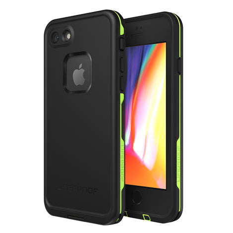 LifeProof iPhone 8/7 FRE Case (Black/Lime)