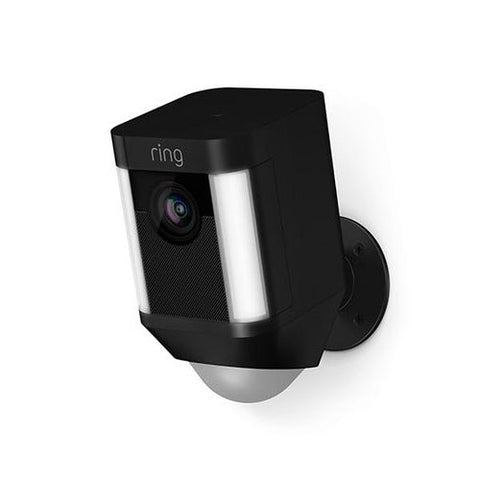 Ring Spotlight Cam Battery (Black) Wireless