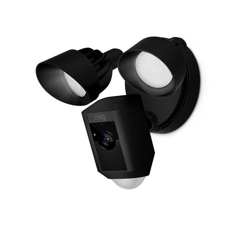 Ring Floodlight Cam (Black) Wired