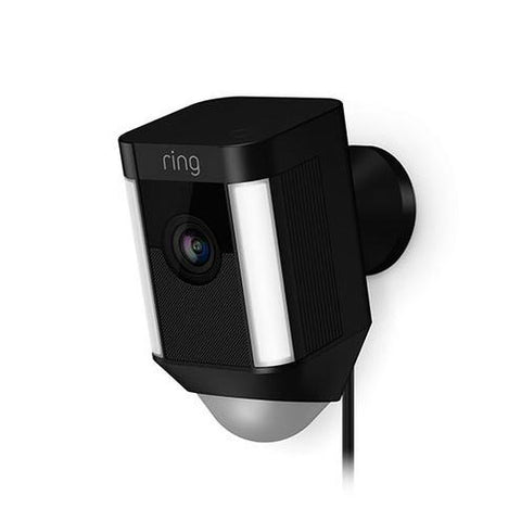 Ring Spotlight Cam (Black) Wired