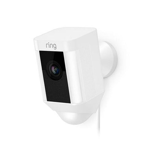 Ring Spotlight Cam (White) Wired