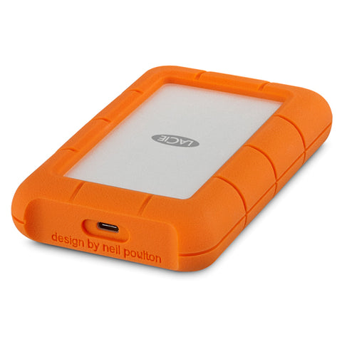LaCie Rugged 5TB USB-C Portable Backup Drive (USB 3.1)