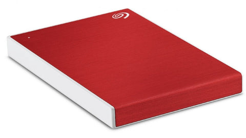 Seagate 2TB One Touch (Red) Portable Backup Drive 2.5i USB 3.0