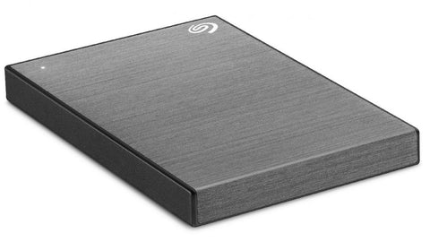 Seagate 1TB One Touch (Space Grey) Portable Backup Drive 2.5i USB 3.0