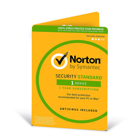 Norton Security Standard (1 User) 12-month Subscription/Renew