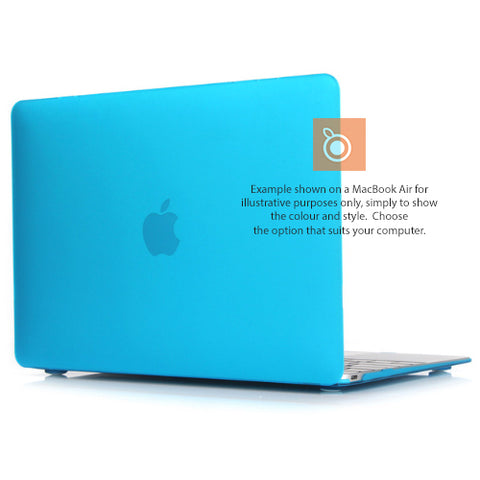 Hard Shell Case MacBook Pro 13i A1708 (Light Blue) 2xTB3 Non