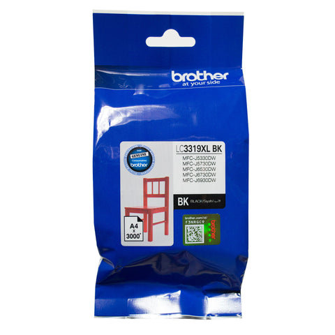 Brother Ink LC3319XLBK (Black) High Yield