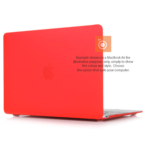 Case Hard Shell for MacBook Pro 13i A1708/A1706 (Red)