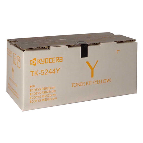Kyocera Toner TK-5244Y Yellow (3000 pages) for M5526 P5026