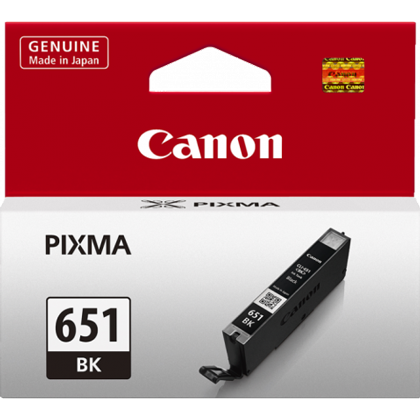 Canon CLI651BK Black Standard Ink (~330 pages)