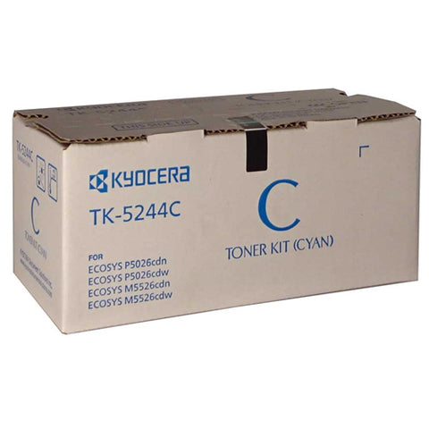 Kyocera Toner TK-5244C Cyan (3000 pages) for M5526 P5026