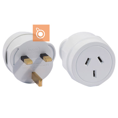 Travel Adapter (UK/HK Plug) with NZ Socket