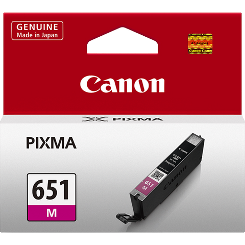 Canon CLI651M Magenta Standard Ink (~330 pages)