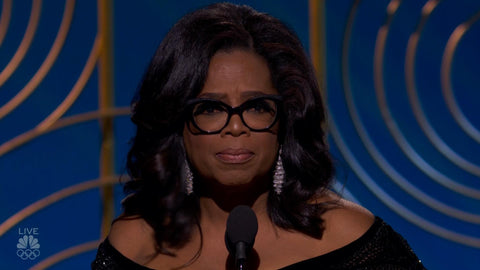 Oprah at Golden Globes