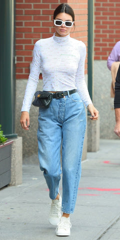 Kendall Jenner in Fanny pack