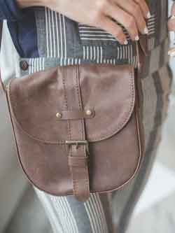 The Leather Satchel