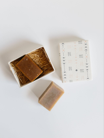 Honey Oat + Chai Artisan-Made Soaps