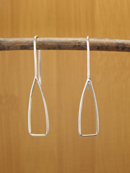 Paddle Drop Earrings